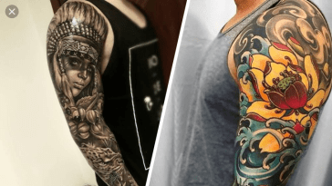 tatouage bras complet homme, Tendance Tattoo Homme : Magnifique Tatouage bras complet homme