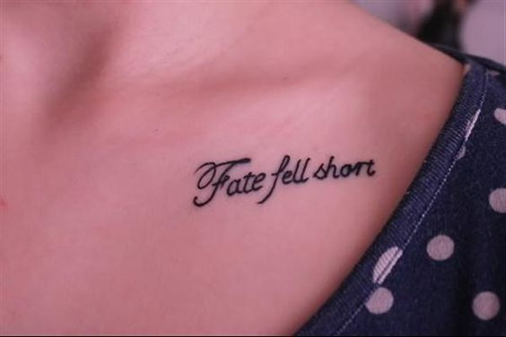 Tattoo en anglais