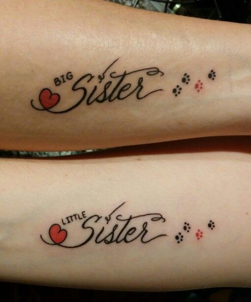 Big sister - Little sister - amour inconditionnel