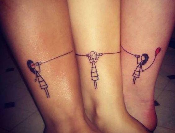 Des tatouages qui se complètent