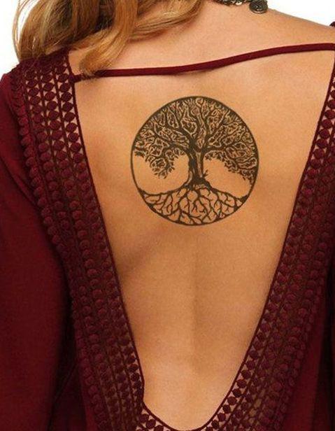 Tatouage arbre de vie