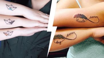 tatouage frere et soeur, Tatouage fraternel : 20 Idées Tatouage frere et soeur