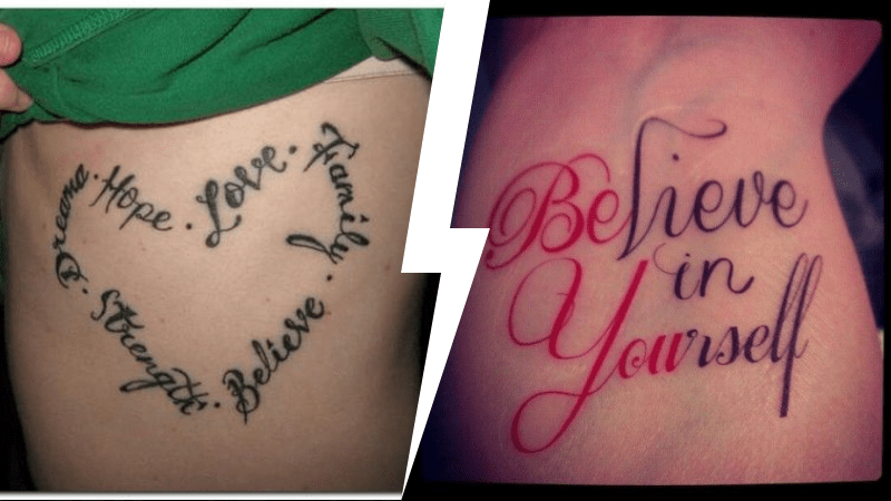 Idées Tatouage Tatouage Phrase En Anglais Proverbes Et