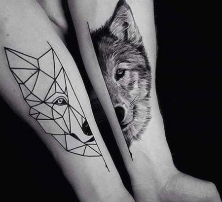 Tatouage Loup 20 Illustrations Avec Significations Et Symbolisations