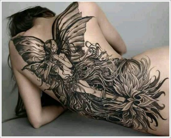 dessins de tatouage de fée (3)