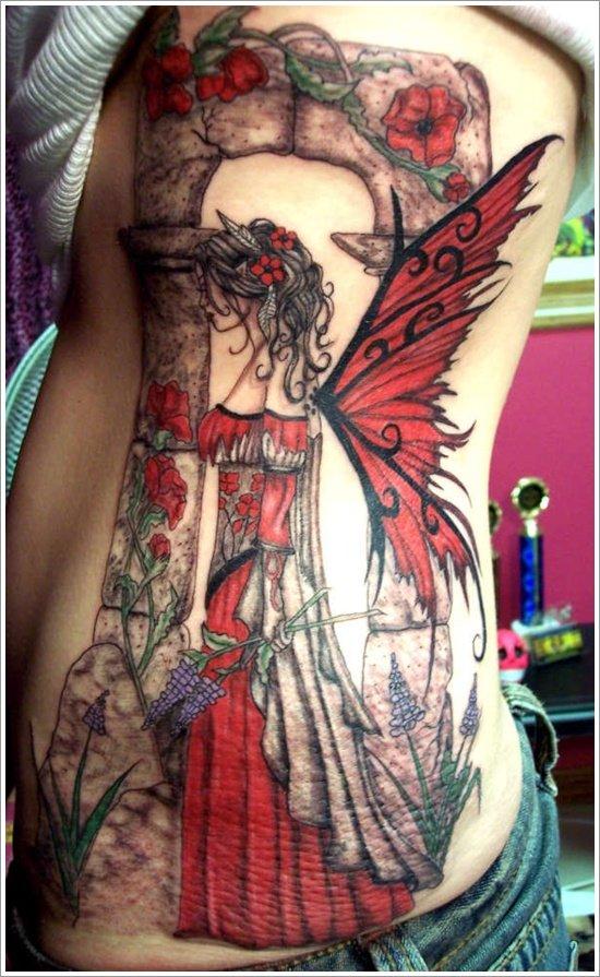 dessins de tatouage de fée (15)