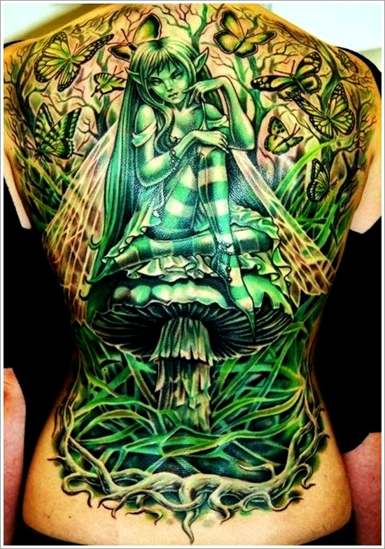 dessins de tatouage de fée (32)