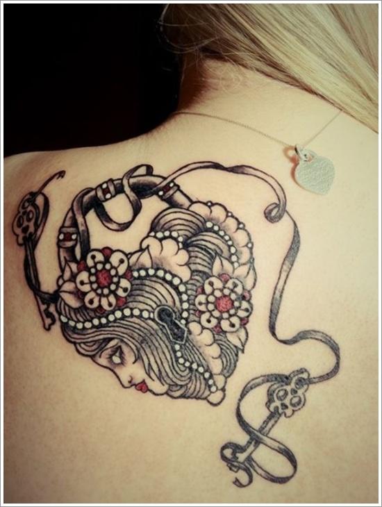 conception de tatouage de verrouillage (5)