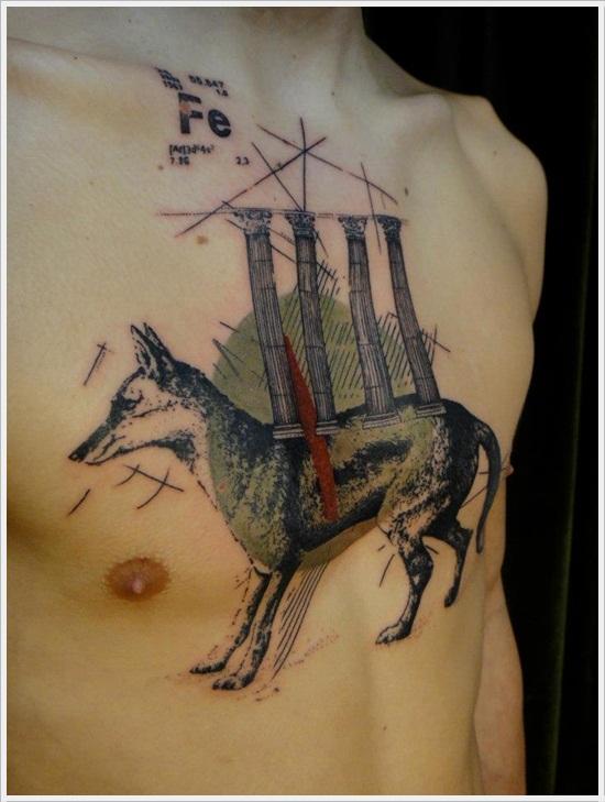 16 dessins de tatouage typiques
