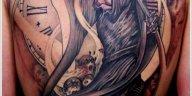, Hommes : 35 conceptions de tatouage horrifiant Grim Reaper  (En images)