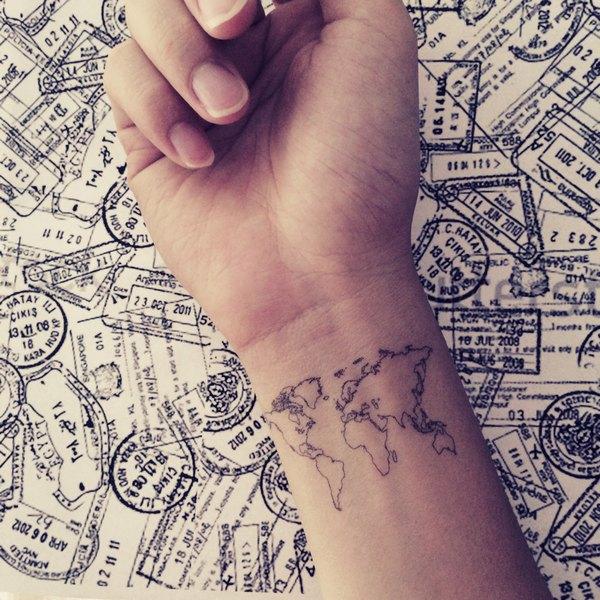 Tatouage temporaire personnalisé