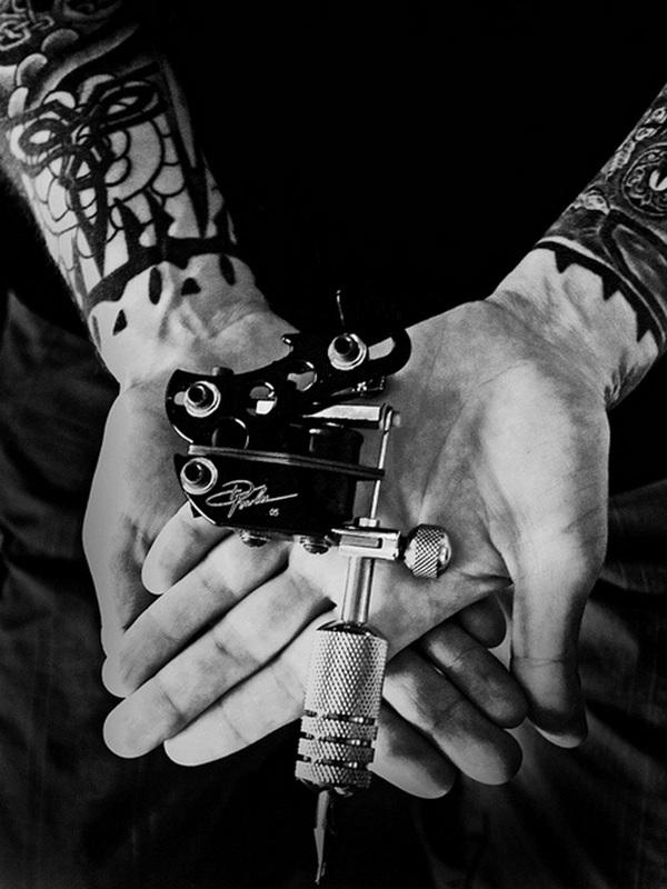 pistolet de tatouage