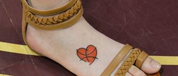 , Plus de 45 types sportifs de conceptions et de significations de tatouages de basket-ball – Célébrités célèbres (2019)  (En images)
