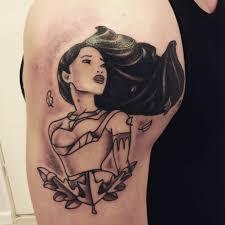 Signification de tatouage de Pocahontas 8