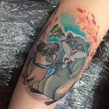 Signification de tatouage de Pocahontas 36