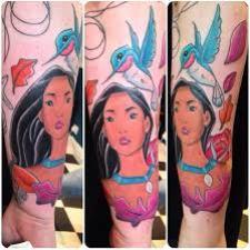 Signification de tatouage de Pocahontas 39
