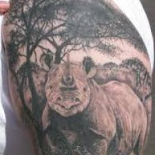 Signification de tatouage de rhinocéros 12