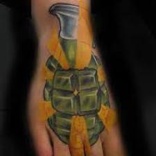 Signification de tatouage de grenade 26