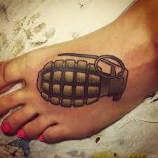 Signification de tatouage de grenade 27