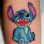 tatouages de dessin animé drôle