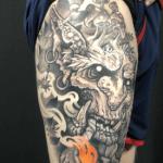 tatouage de troll