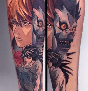 tatouage manga