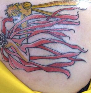 tatouage de lune marin