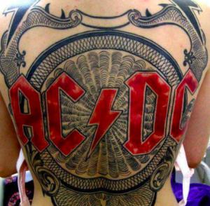 bande de tatouage