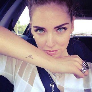 , Les tatouages de Chiara Ferragni : ce qu'ils sont et ce qu'ils signifient  (En images)