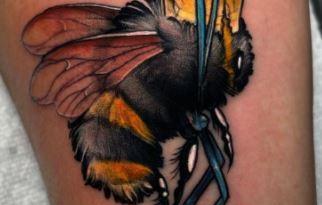 , 100 beaux tatouages, idées et significations d'abeilles  (En images)