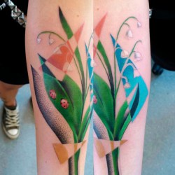 Valley Flower Lily Tatoo Gardening Flower And Vegetables