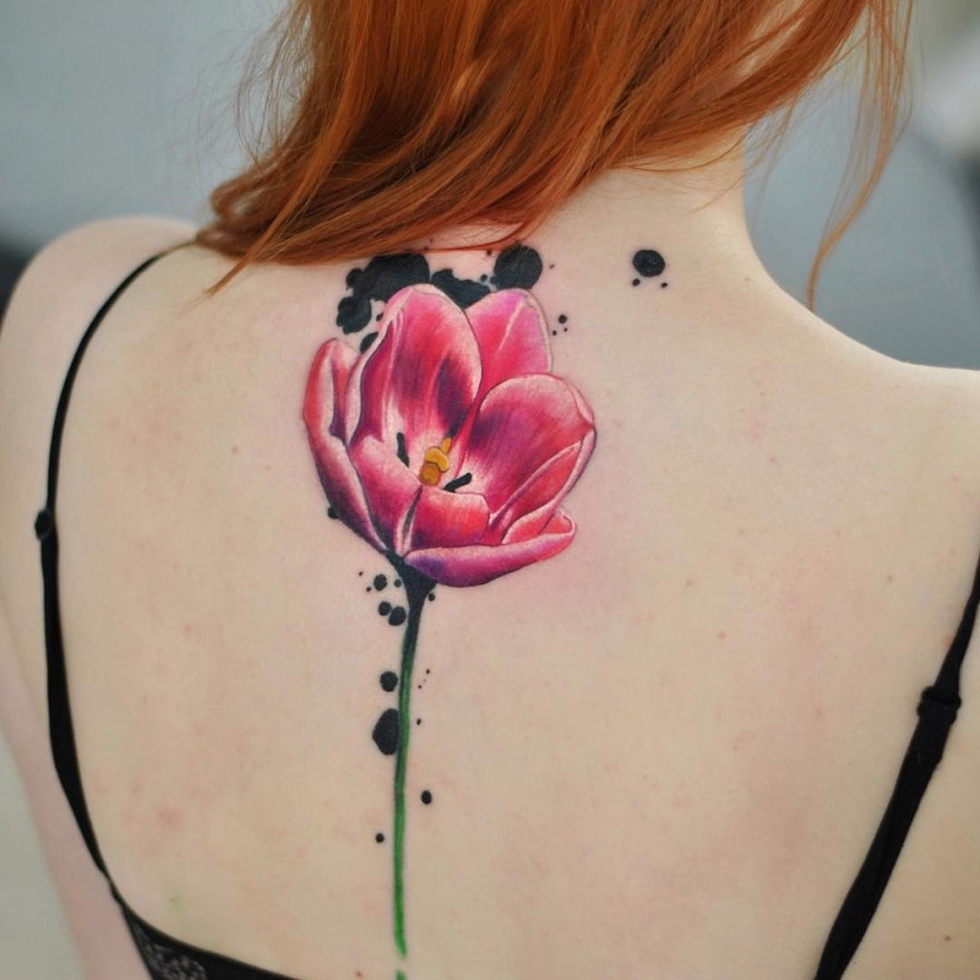 105 Sensational Watercolor Flower Tattoos Page 8 Of 11