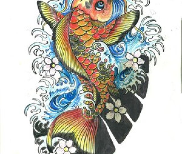 Japanese Koi Fish Tattoo Designs Gallery