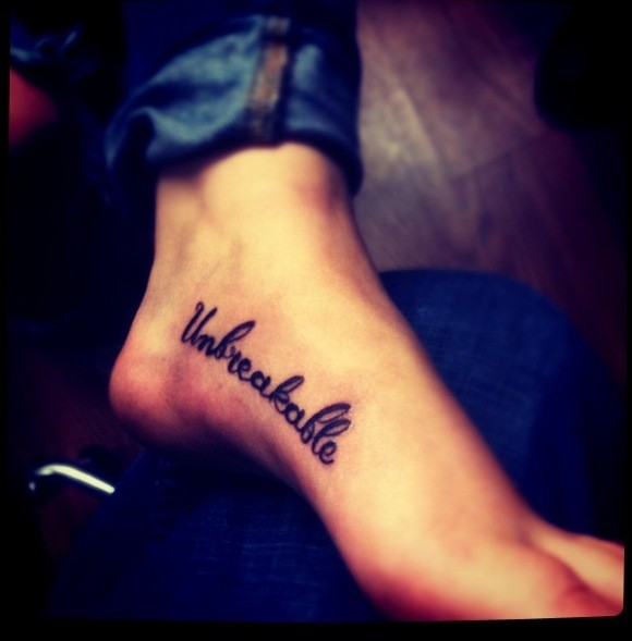 Image of: Tattoo Design Picture Of Inspirational Quotes For Foot Tattoo Tattoomagz Picture Of Inspirational Quotes For Foot Tattoo Tattoomagz