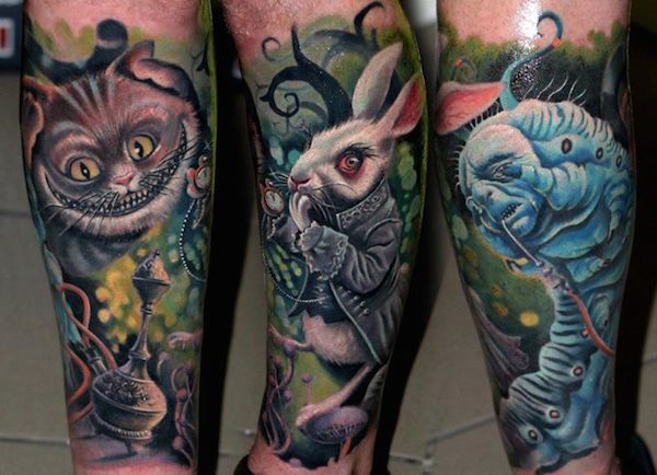 100 Best Alice In Wonderland Tattoos Tattooblend Ideas And Designs