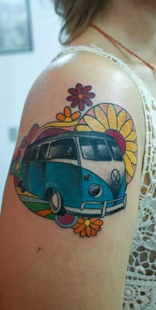 Vw Camper Tattoo Best Tattoo Ideas Designs Ideas And Designs