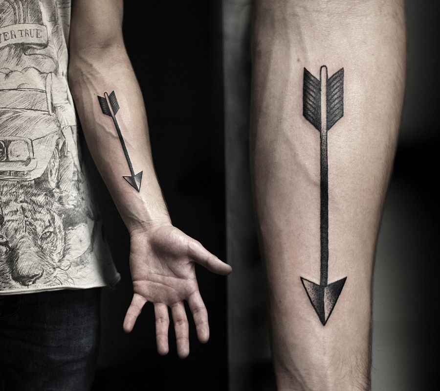 Arrow Forearm Tattoo Best Tattoo Ideas Designs Ideas And Designs