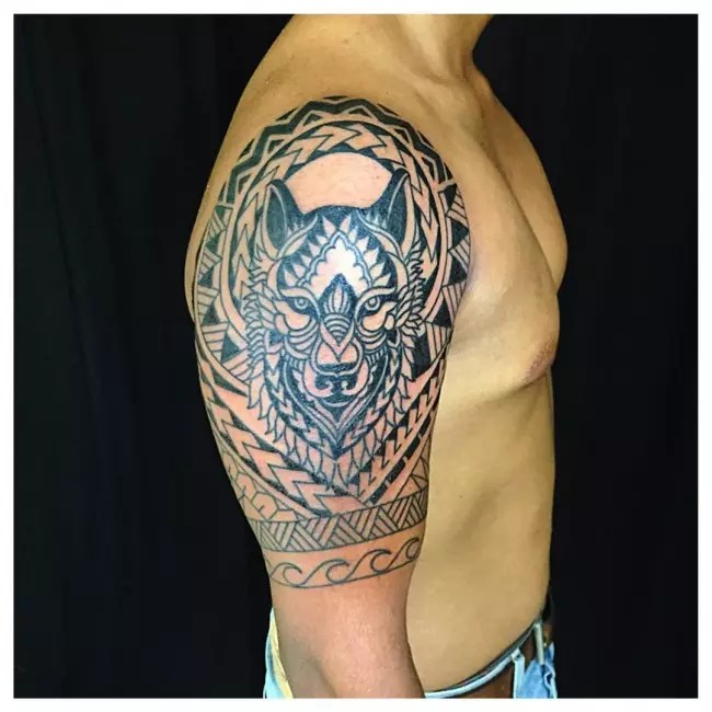 65 Mysterious Traditional Tribal Tattoos For Men And Ideas And Designs