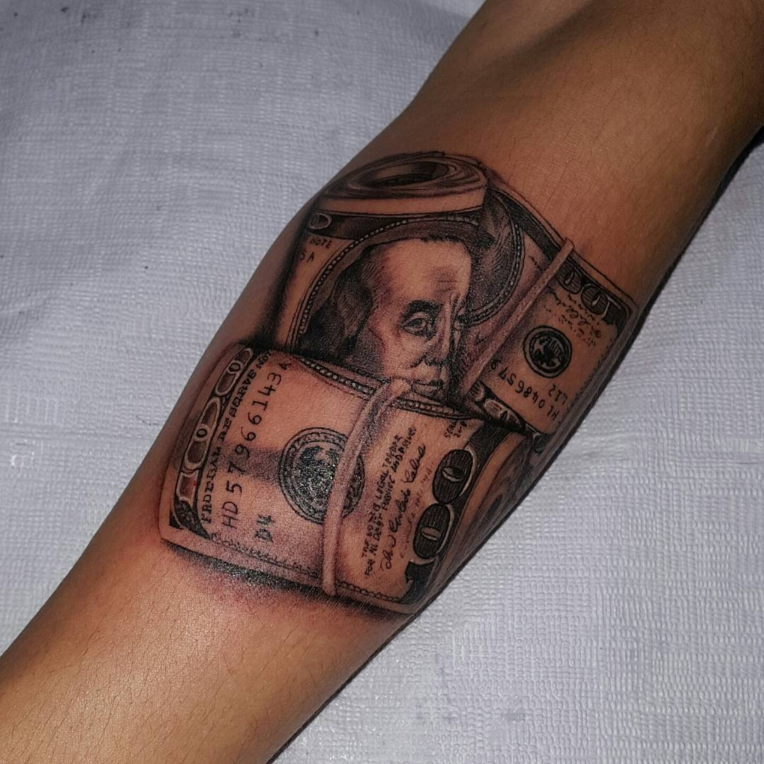 75 Best Money Tattoo Designs Meanings Get It All 2019 Ideas And Designs