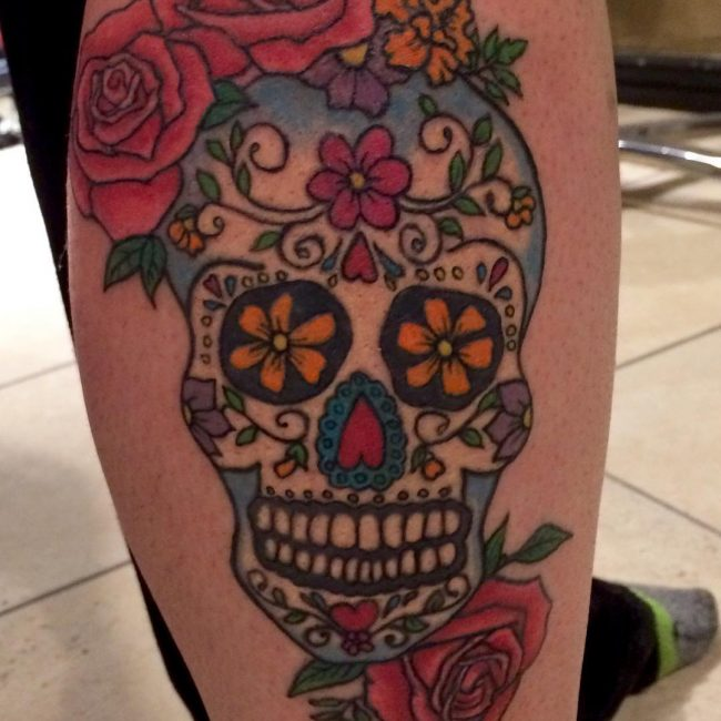 125 Best Sugar Skull Tattoo Designs Meaning 2019 Ideas And Designs
