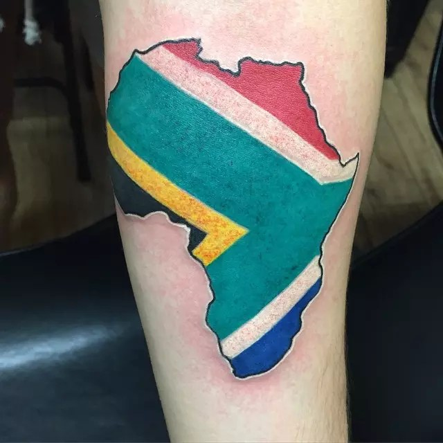 Africa Tattoos That Pay Tribute To The Mother Continent Ideas And Designs