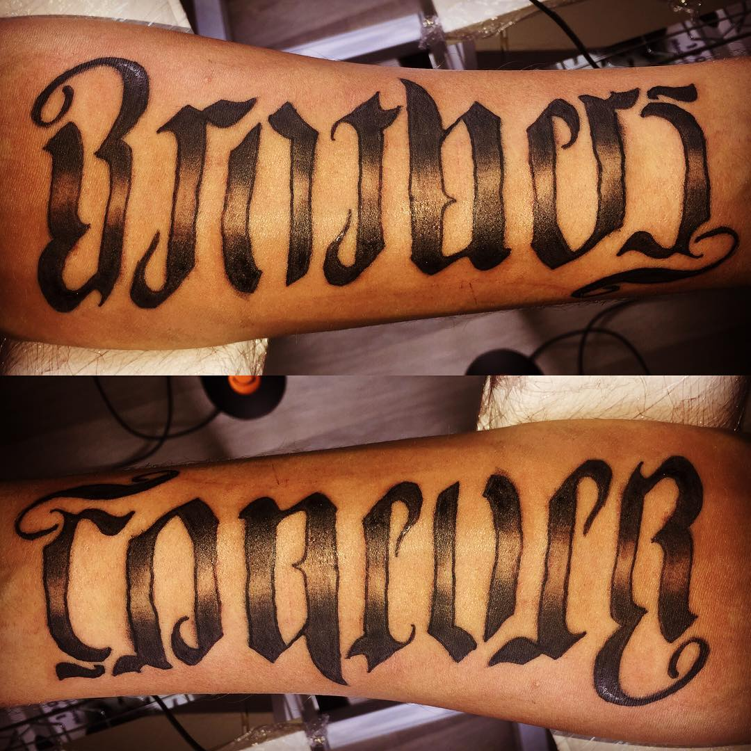 45 Ambigram Tattoos Designs Meanings For Men Women Ideas And Designs