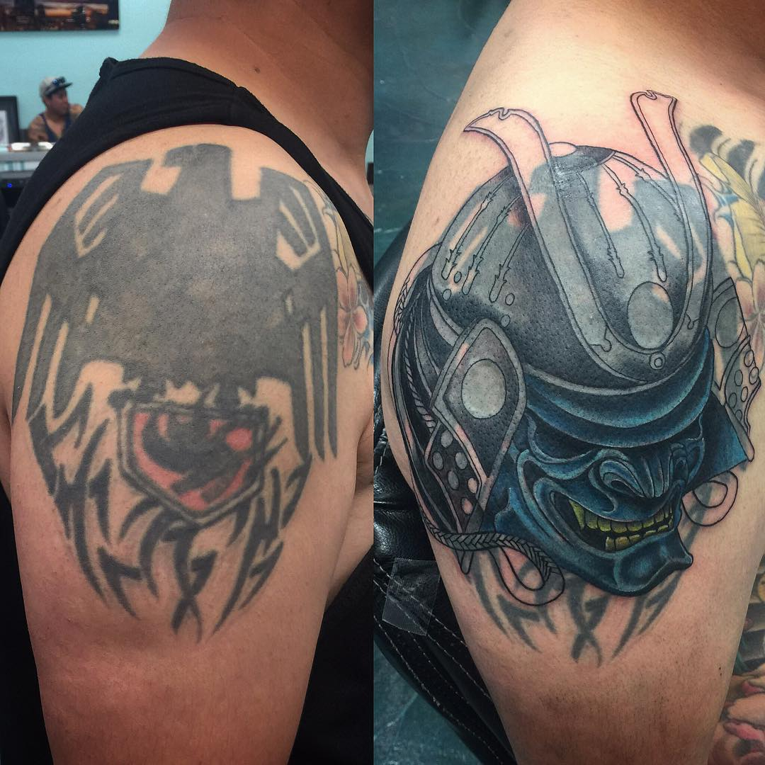 55 Best Tattoo Cover Up Designs Meanings Easiest Way Ideas And Designs