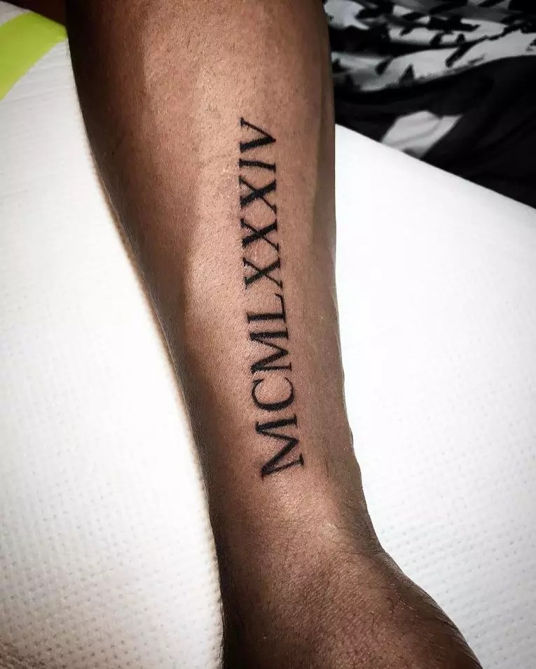 70 Best Roman Numeral Tattoo Designs Meanings Be Ideas And Designs