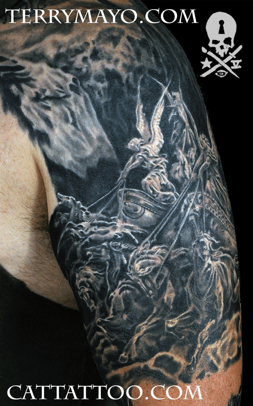 Gustave Dore Four Horsemen By Terry Mayo Tattoos Ideas And Designs