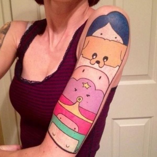 Oh My Glob 33 Great Adventure Time Tattoos Neatorama Ideas And Designs