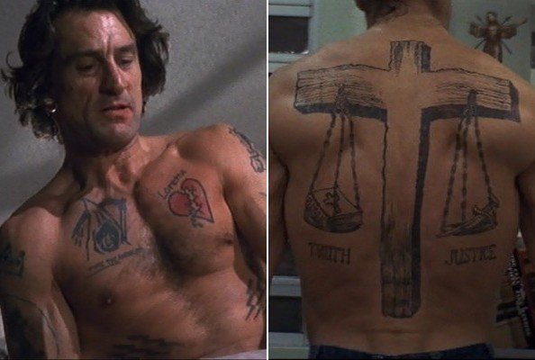 Cape Fear The Best Tattoos In Movies Zimbio Ideas And Designs