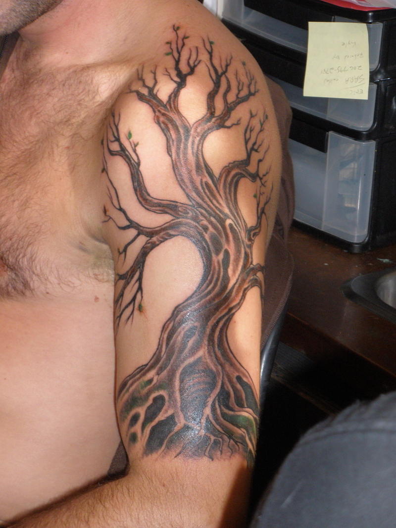 12 Awesome Tribal Tree Tattoos Ideas And Designs