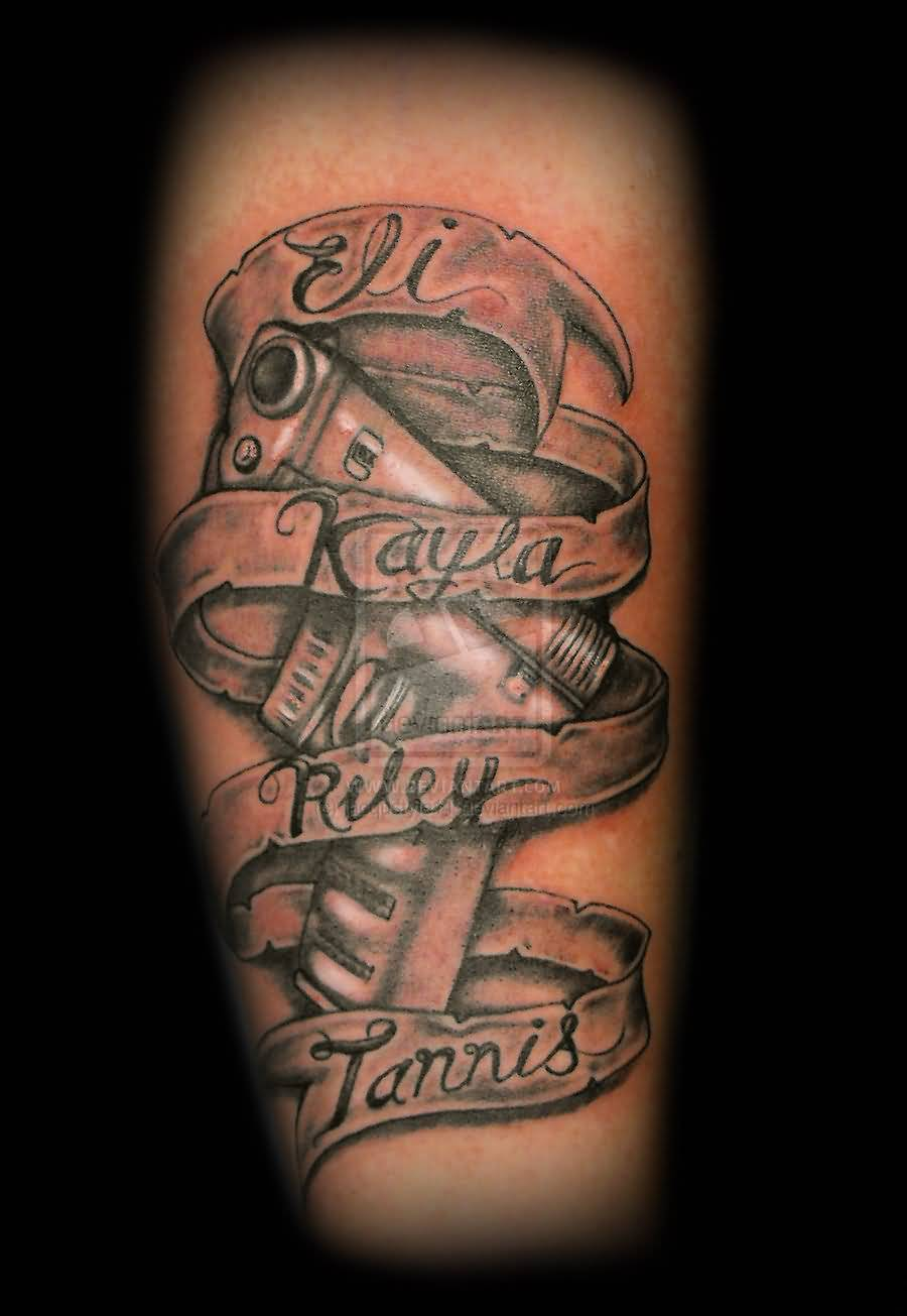 Banner Tattoo Ideas And Banner Tattoo Designs Page 3 Ideas And Designs