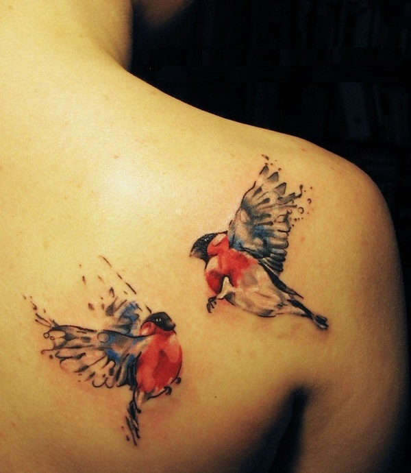 Bird Back Tattoos Images Pictures Tattoos Hunter Ideas And Designs